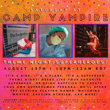 Saturday, August 15th at 10:00PM EDT: