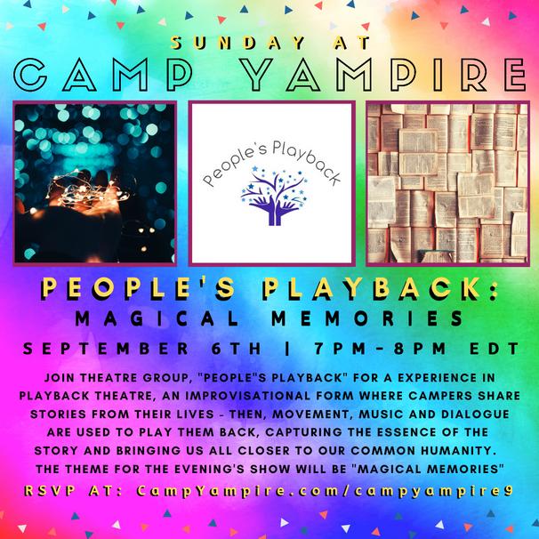Sunday, September 6th at 7:00PM EDT: