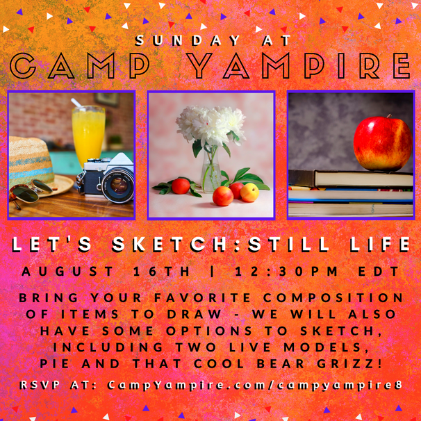 Sunday, August 16th at 12:30PM EDT: