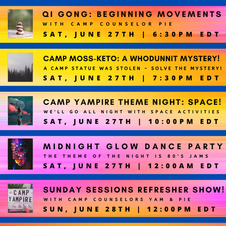 9 Camp Yampire 6.0 Schedule.png