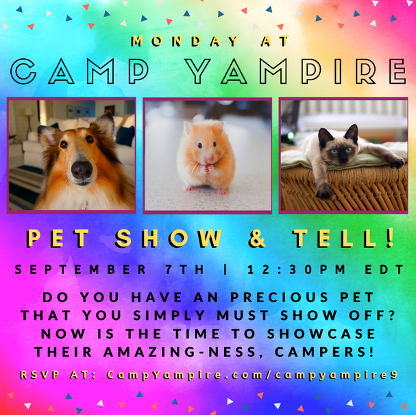 Monday, September 7th at 12:30PM EDT: