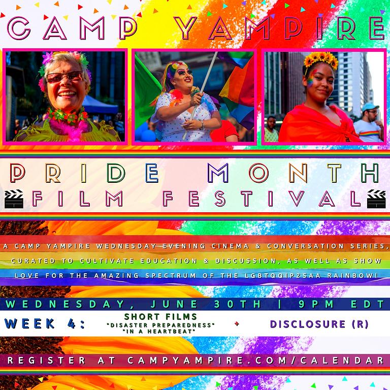 Camp Yampire: Pride Month Film Festival Week IV