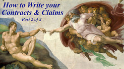 5) How To Write Your COntracts and Claim