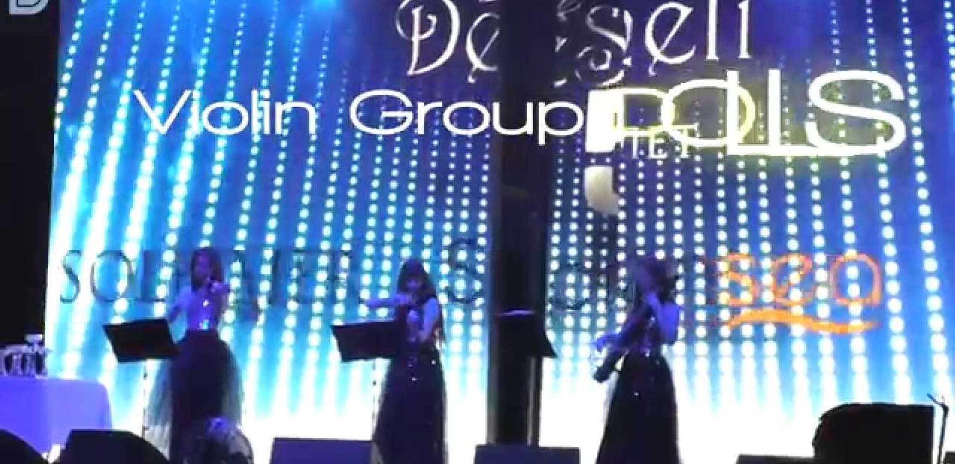 Праздничный вечер компании DESHELI в клубе ICON