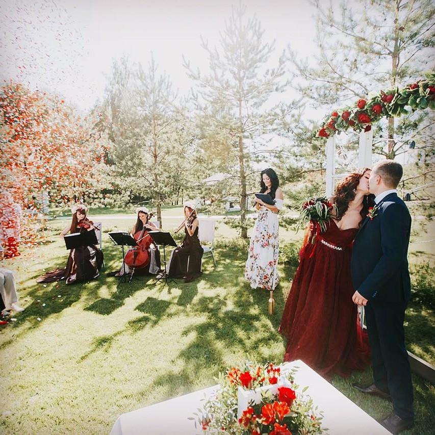 Струнное трио Violin Group DOLLS - свадебная музыка