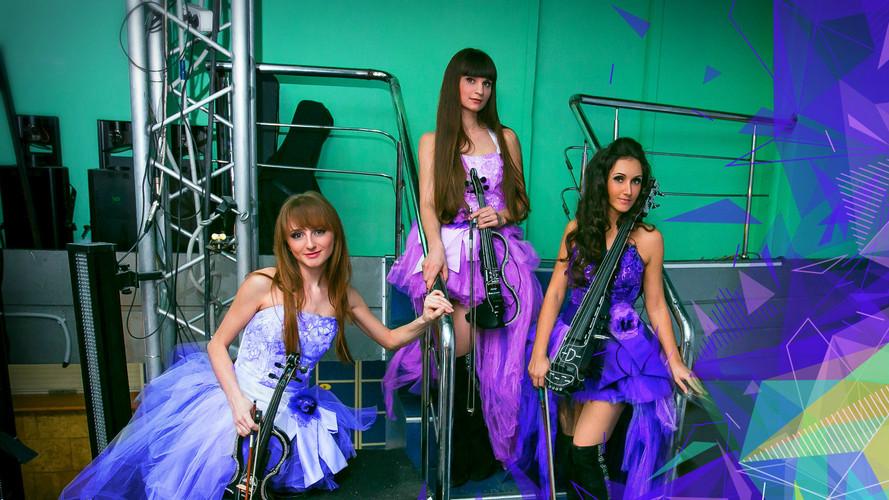 Элктроскрипачки Violin Group DOLLS
