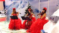 Струнное трио Violin Group DOLLS на выставке