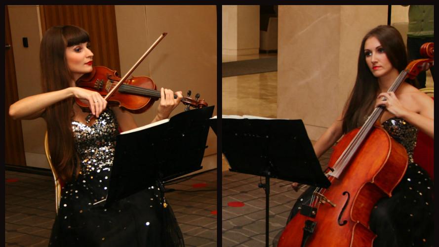 Скрипка и виолончель Violin Group DOLLS