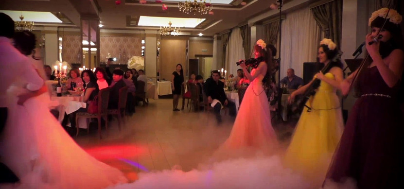 """Свадебный танец в ресторане """"Татев"""""""