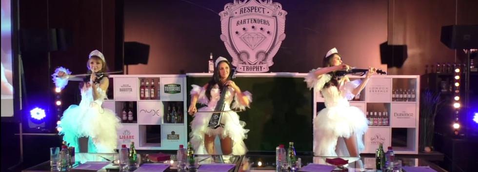 Respect Bartenders Trophy в Holiday Inn