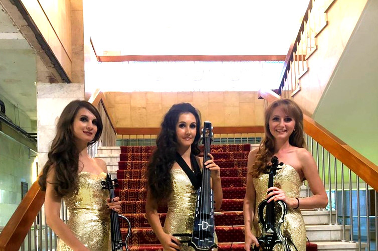 Трио Violin Group DOLLS