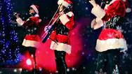 Снегурочки - новогоднее шоу Violin Group DOLLS