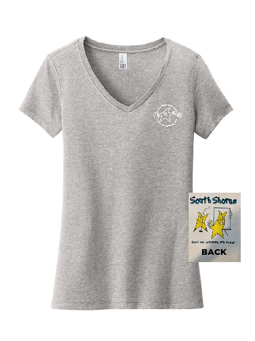 South Shores Adult Women's V Neck Shirt