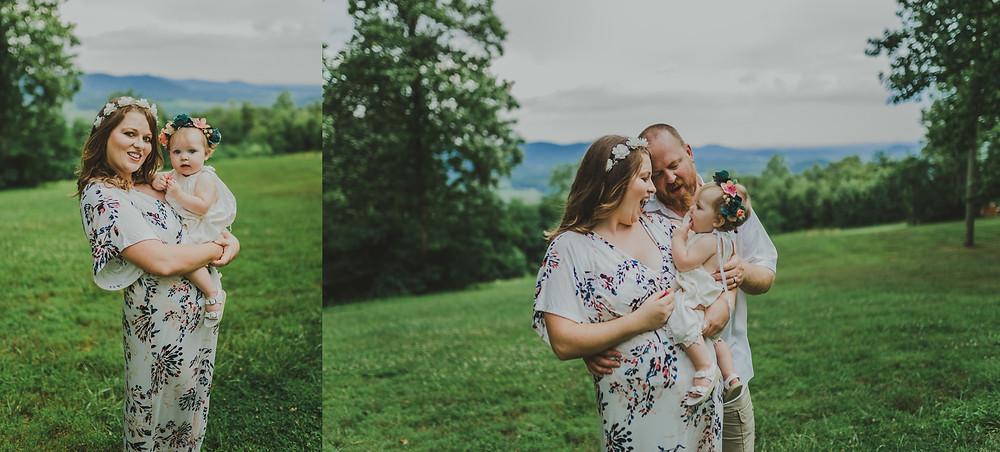Lydia Mountain Family Photo Session | Melissa Sheridan Photography | Charlottesville Family Photographer