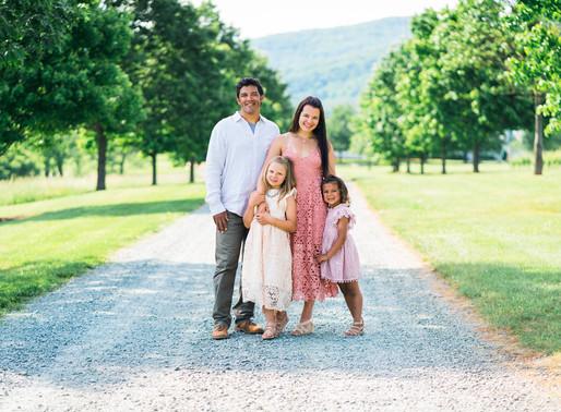 Summer King Family Vineyards Photo Session | Charlottesville Family Photographer