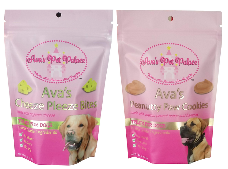 Monthly Subscription: Cheeze Pleeze Bites & Peanutty Paw Cookies