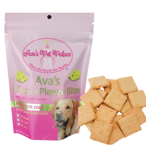 Ava's Cheeze Pleeze Bites