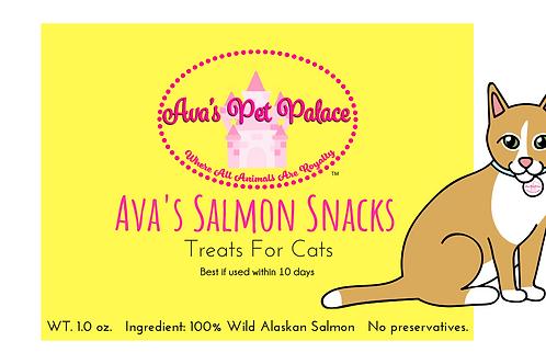 Ava's Salmon Snacks For Cats 3 oz.