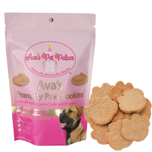 Ava's Peanutty Paw Cookies