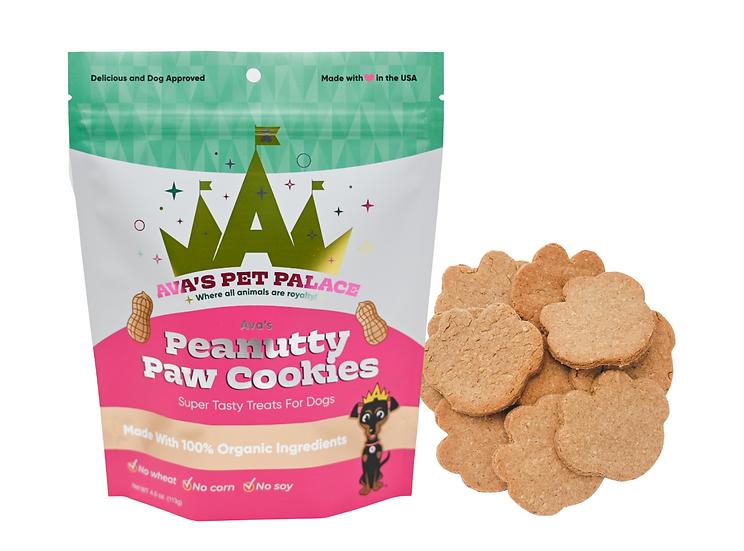 Ava's Peanutty Paw Cookies