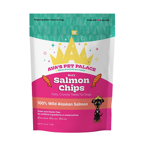 *NEW* Salmon Chips For Dogs