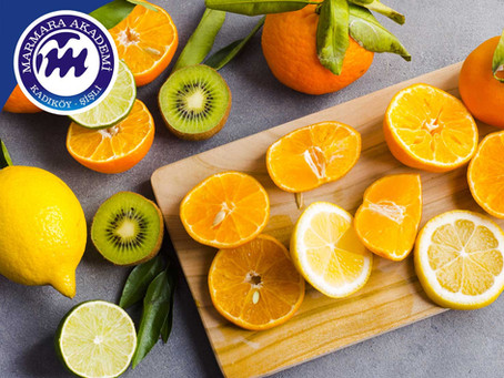 C Vitamini Almayı İhmal Etmeyin!