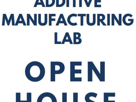 Open House on June 5 to Show Off Additive Manufacturing Lab's New Resources for Design and Produ