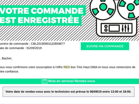 Lost in the service client de Red by SFR