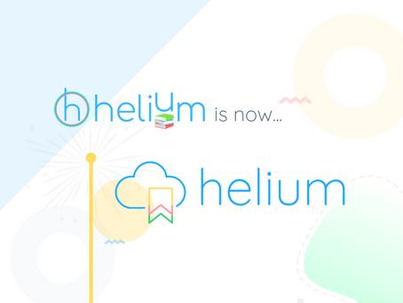 Helium Books Launches New Brand!