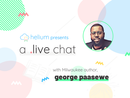 WATCH: A Live Chat with George Paasewe
