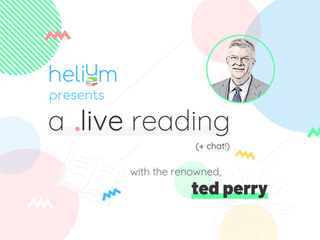 WATCH: A Live Reading + Chat with Ted Perry