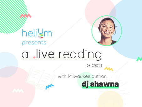 WATCH: A Live Reading + Chat with DJ Shawna