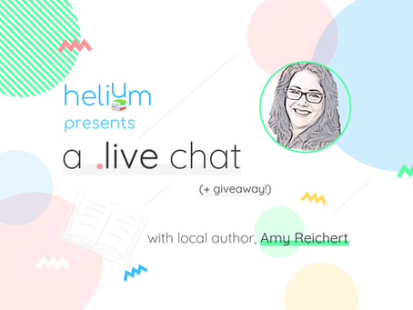 WATCH: A Live Chat with Amy Reichert