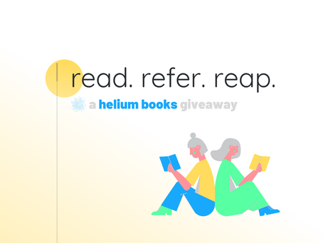 Read. Refer. Reap. — A Helium Books Giveaway