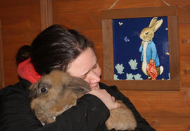 Hannah with Buzz
