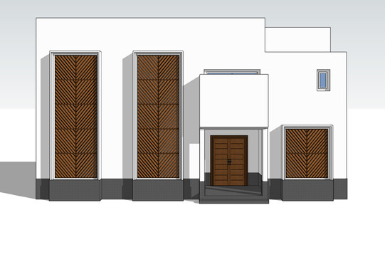 Design concept for my parents' house in Yanbu using SketchUP