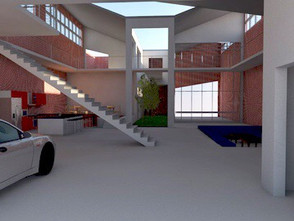 DIVIDE AND CONQUER - Digital model using ArchiCAD