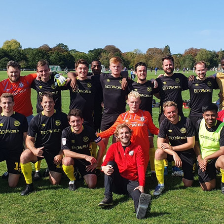 Heroes of Waterloo 3 FC Griffin Park 4! The sun continues to shine on FCGP