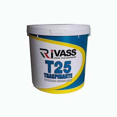 Pittura traspirante per interni T25