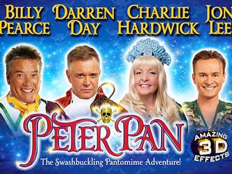 Peter Pan arrives in Bradford today!