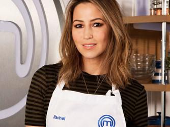 Celebrity MasterChef serves up Rachel!