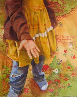 Untitled (Yellow Dress, Muir Woods)
