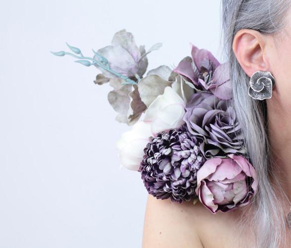 broche de fleurs end