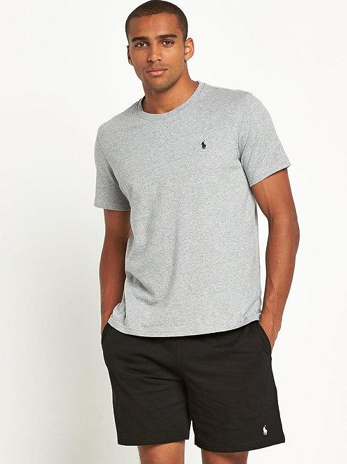 T-shirt Basica Ralph Lauren Grigio HTR