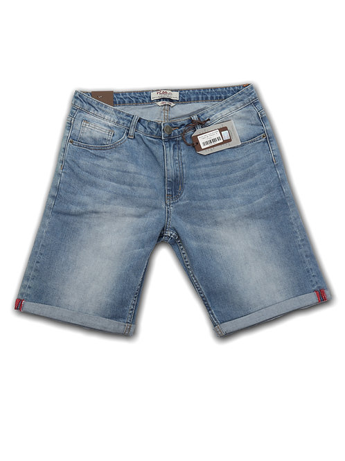 R66 Bermuda Jeans Stone Wash
