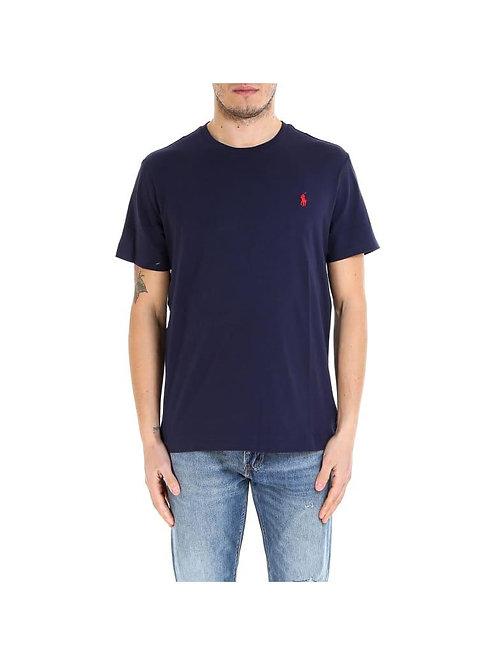 T-shirt Basica Ralph Lauren Blu Navy