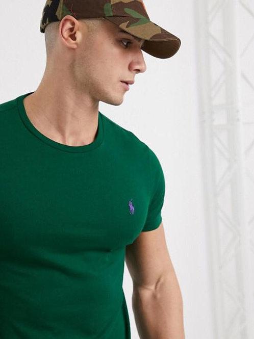 T-shirt Basica Ralph Lauren Verde