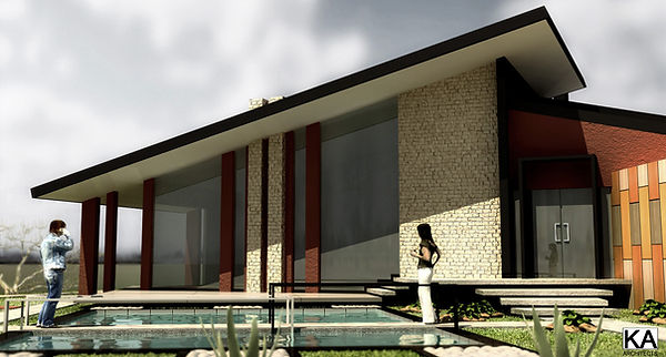 Belgrade, Serbia architectral design single family home