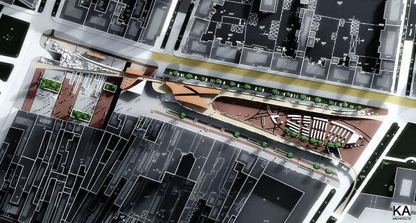 Novi Sad, Serbia  fish market competition urban and architectural design
