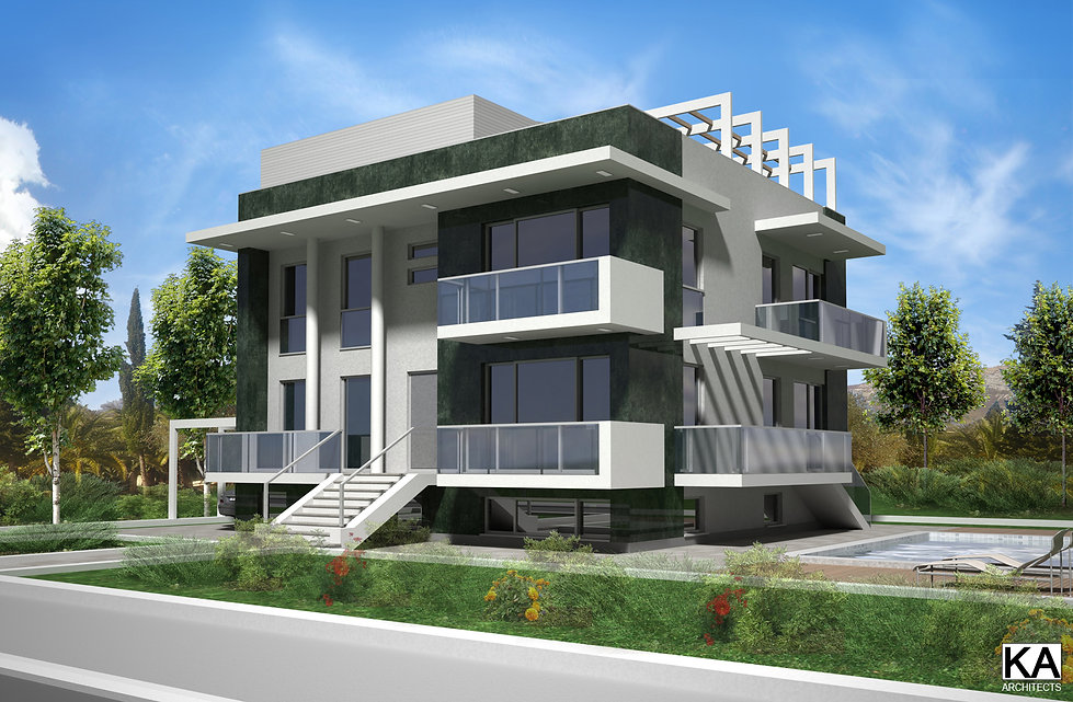 Podgorica, Montenegro  -conceptual design architectural design single family home